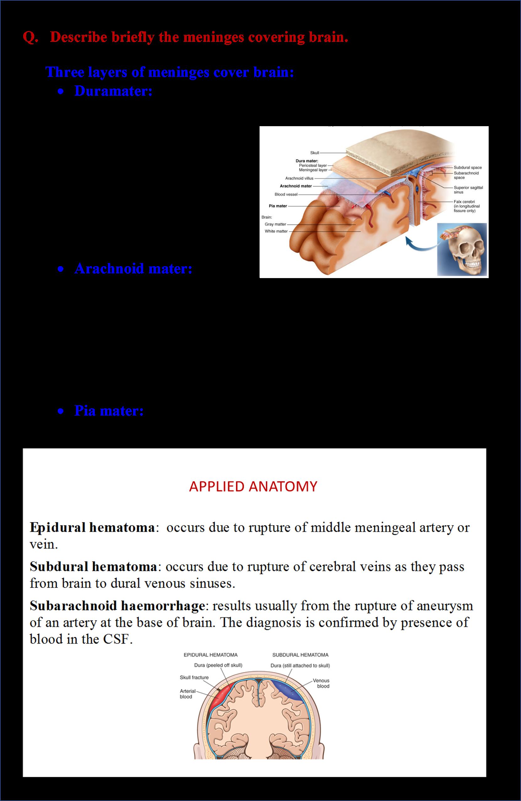Dural Sinus Anatomy