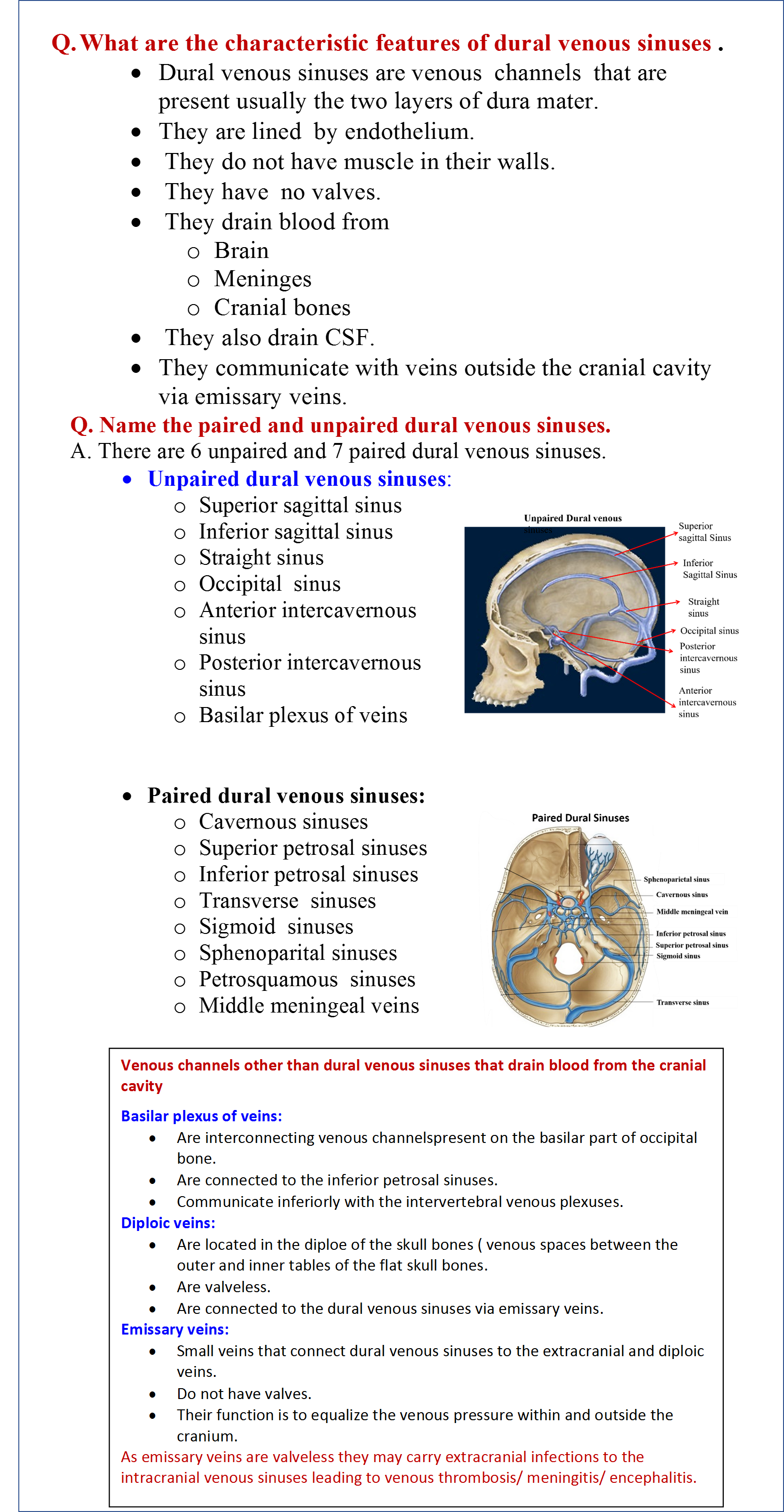 Venous Cranial Facial Syndrome